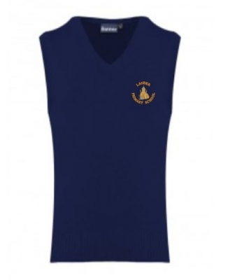 LAUDER PRIMARY SCHOOL KNITTED TANK TOP