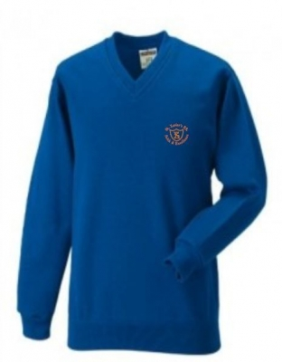 ST XAVIERS PRIMARY SCHOOL V-NECK SWEATSHIRT
