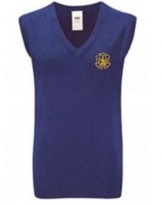 ST BRENDANS PRIMARY KNITTED TANKTOP