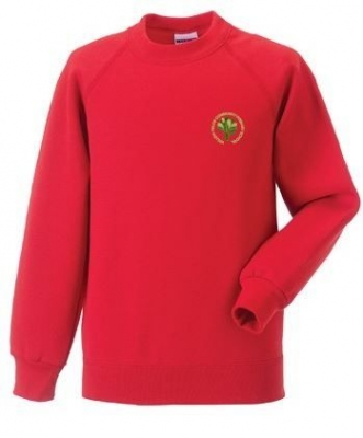 WILLOWFIELDS PRIMARY SCHOOL SWEATSHIRT (WITH PUPIL'S NAME)