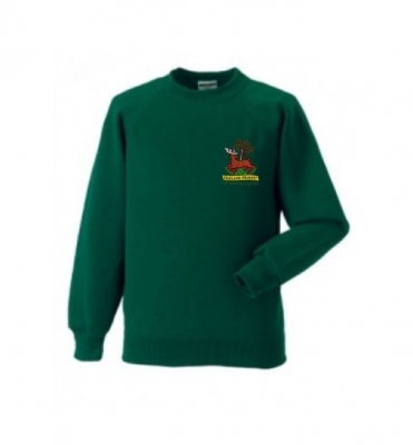 FALKLAND PRIMARY SCHOOL SWEATSHIRT WITH PUPILS NAME