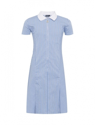 LUNDIN MILL SCHOOL GINGHAM DRESS