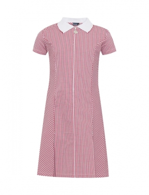 SHIELD ROW PRIMARY SCHOOL GINGHAM DRESS