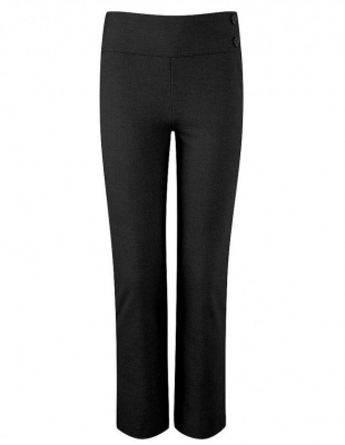 KIRBY JUNIOR GIRLS TROUSERS - BLACK