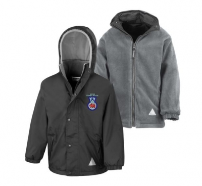 AIRLIE PRIMARY SCHOOL REVERSIBLE JACKET (WITH LOGO)