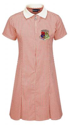 ARNGASK PRIMARY SCHOOL GINGHAM DRESS