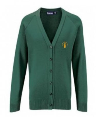 ST NINIANS PRIMARY SCHOOL KNITTED CARDIGAN