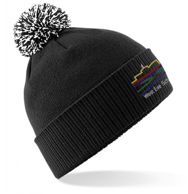 WEST EXE STAFF POMPOM HAT