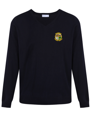 BELLYEOMAN PRIMARY SCHOOL KNITTED V-NECK JUMPER