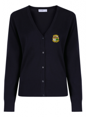 BELLYEOMAN PRIMARY SCHOOL KNITTED CARDIGAN