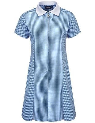 POLLOCKSIELDS PRIMARY SCHOOL GINGHAM DRESS