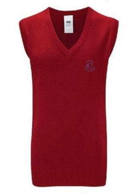 CATHKIN PRIMARY SCHOOL KNITTED TANK TOP