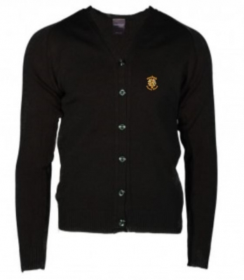WOODLANDS PRIMARY SCHOOL KNITTED CARDIGAN