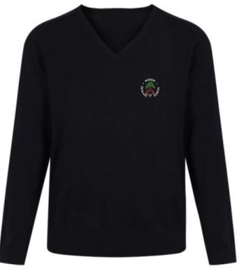 BURGH P7 KNITTED V-NECK JUMPER