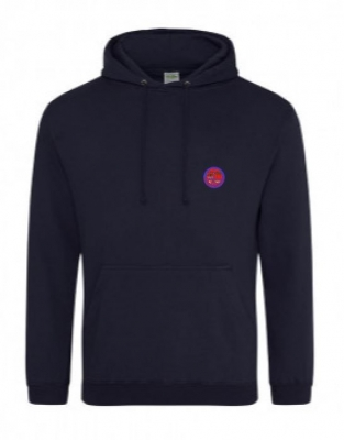BURNTISLAND STAFF HOODIE (WITH NAME ON BACK)