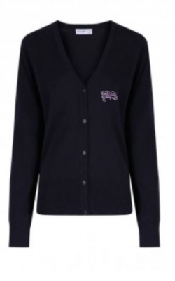 MEIGLE PRIMARY SCHOOL KNITTED CARDIGAN