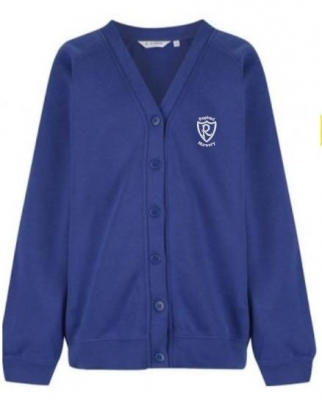 REPHAD NURSERY CARDIGAN (WITH CHILD'S NAME/INITIALS)