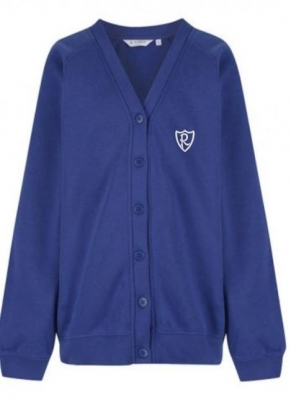 REPHAD PRIMARY SCHOOL CARDIGAN (WITH PUPIL'S NAME/INITIALS)