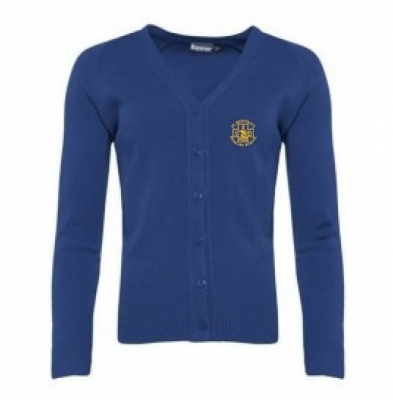 ST BRENDANS PRIMARY KNITTED CARDIGAN