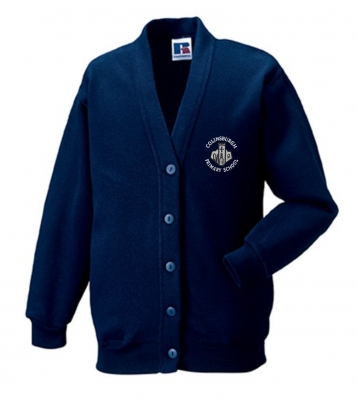 COLINSBURGH PRIMARY SCHOOL RUSSELL CARDIGAN