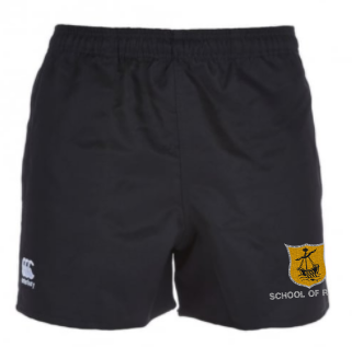 OBAN HIGH SCHOOL CCC PROFESIONAL RUGBY SHORTS -SCHOOL OF RUGBY