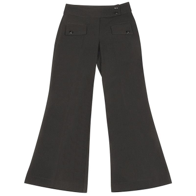 CKL GIRLS STRETCH 2-FLAP BOOTLEG TROUSERS