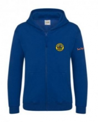 DUNS PRIMARY 7 ZIPPED HOODIE
