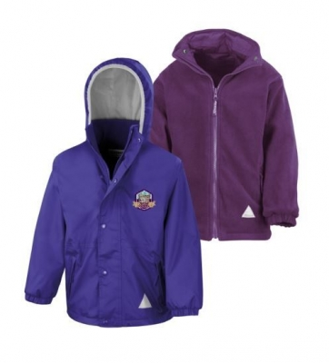 FINTRY PRIMARY SCHOOL REVERSIBLE JACKET