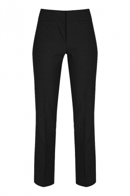 SENIOR GIRLS TWIN POCKET TROUSERS - BLACK