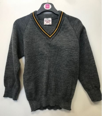 HIGH SCHOOL OF DUNDEE KNITTED V-NECK
