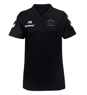 WEST EXE STAFF LADIES POLOSHIRT