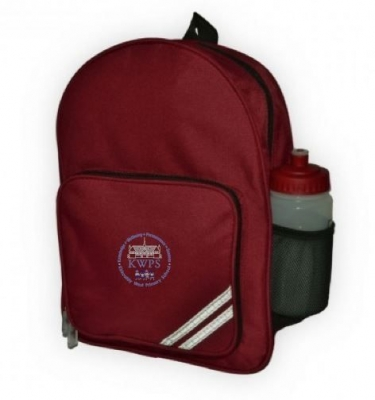 KIRKCALDY WEST SCHOOL INFANT BACKPACK