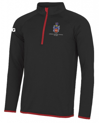 LONDON ORATORY COOL HALF-ZIP TOP