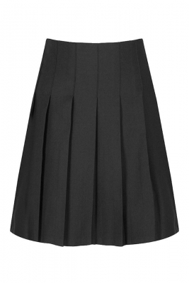 JUNIOR STITCH DOWN PLEAT SKIRT - HARROW