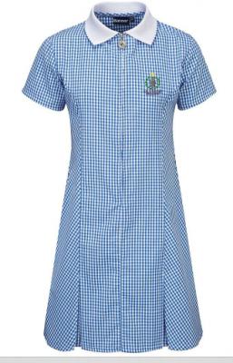 KELVINDALE PRIMARY SCHOOL GINGHAM DRESS - WITH LOGO