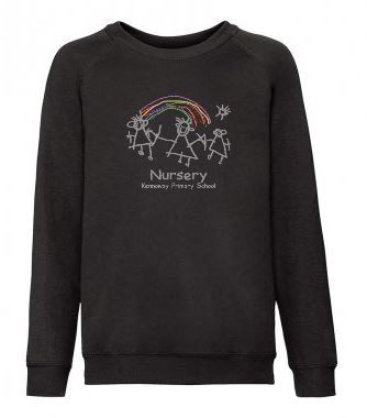 KENNOWAY NURSERY FRUIT OF LOOM SWEATSHIRT