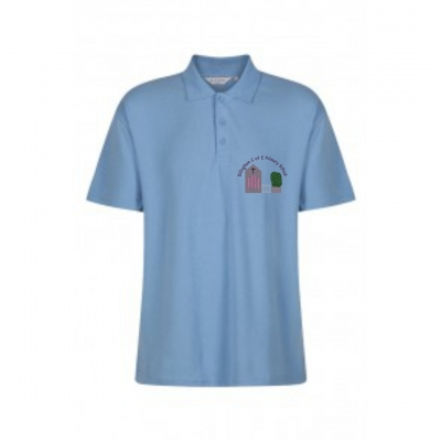 ELLINGHAM C OF E PRIMARY POLOSHIRT (WITH PUPILS NAME)