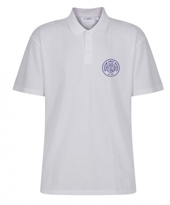 HEXHAM FIRST SCHOOL POLOSHIRT WITH INDIVIDUAL NAME