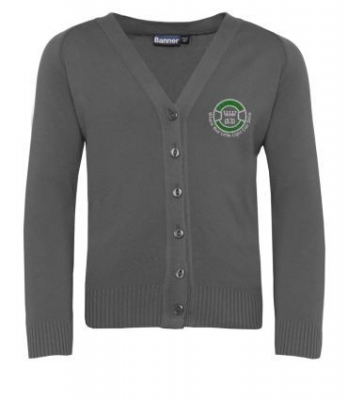 CANMORE SCHOOL KNITTED CARDIGAN