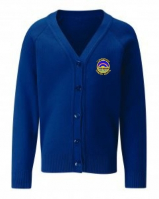 CLOVENFORDS PRIMARY SCHOOL KNITTED CARDIGAN