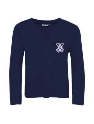 CRAIGLOCKHART PRIMARY SCHOOL KNITTED CARDIGAN