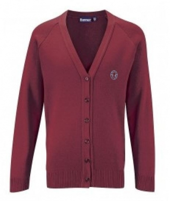 ST CHARLES PRIMARY SCHOOL KNITTED CARDIGAN