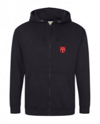 LESLIE PS *STAFF* ZIPPED HOODIE (WITH NAME)