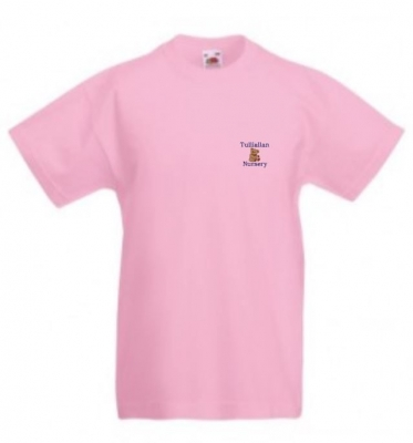 TULLIALLAN NURSERY T-SHIRT (PINK)