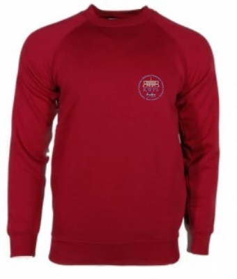 KIRKCALDY WEST SCHOOL SWEATSHIRT