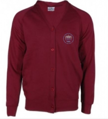 KIRKCALDY WEST SCHOOL CARDIGAN
