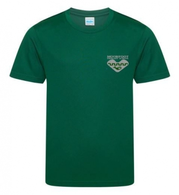 MOORFOOT PRIMARY COOL PE T-SHIRT
