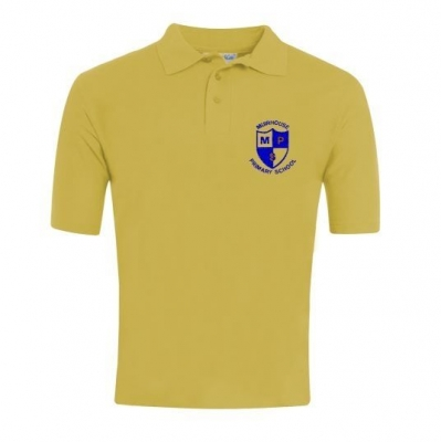 MUIRHOUSE PRIMARY BLUEMAX POLOSHIRT