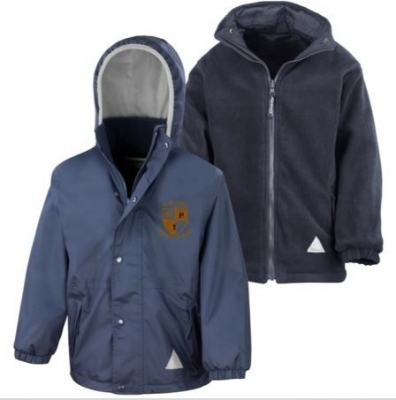 MUIRHOUSE PRIMARY REVERSIBLE JACKET