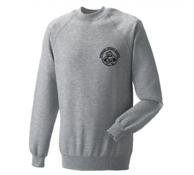 NEWMAINS PRIMARY SILVER SWEATSHIRT